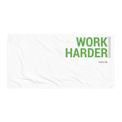 Work Harder | Beach Blanket