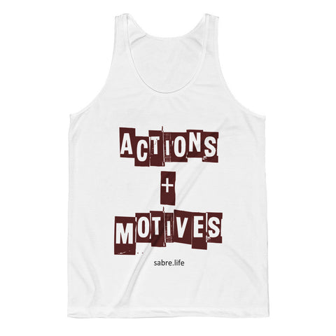Actions & Motives | Unisex Classic Fit Tank Top