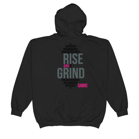 Rise and Grind 2nd Edition Unisex  Zip Hoodie
