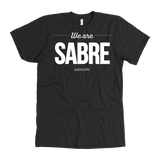 We Are Sabre American Apparel T-Shirt | White Logo