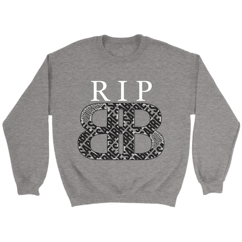 RIP Big Black Sweatshirt Adult