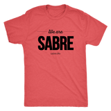 We Are Sabre | Black Logo