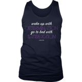 Determination & Satisfaction Mens Tank