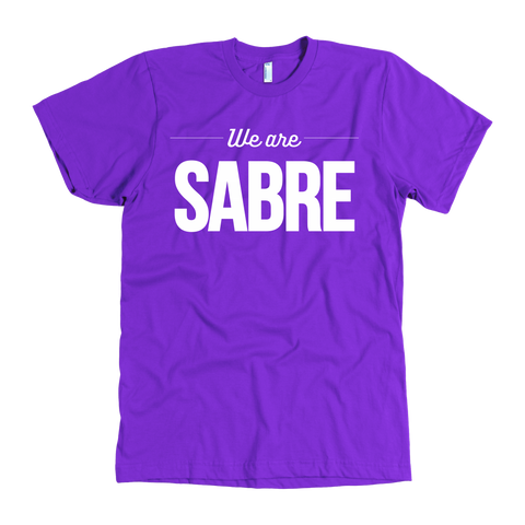 We Are Sabre | White