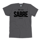 We Are Sabre American Apparel T-Shirt | Black Logo