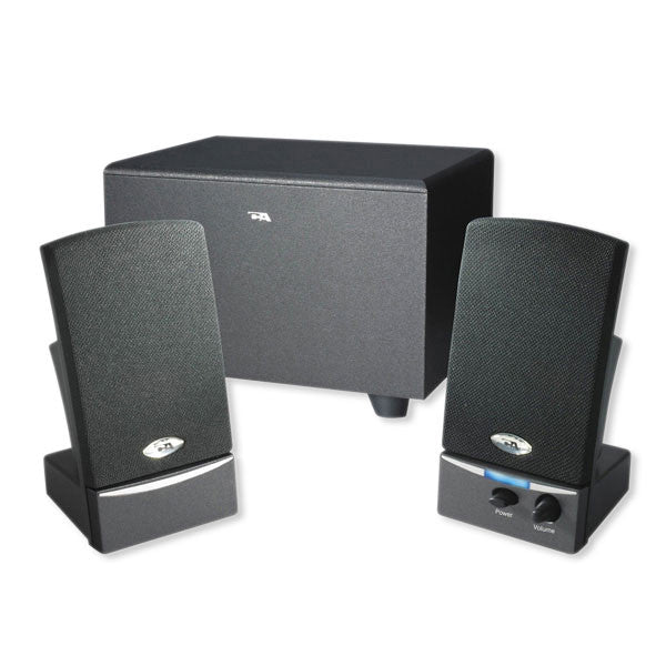 Cyber Acoustics 3pc Subwoofer System - 14W