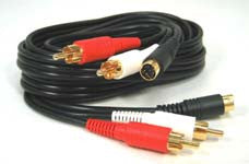 2 RCA Audio Cable (Gold Plated)