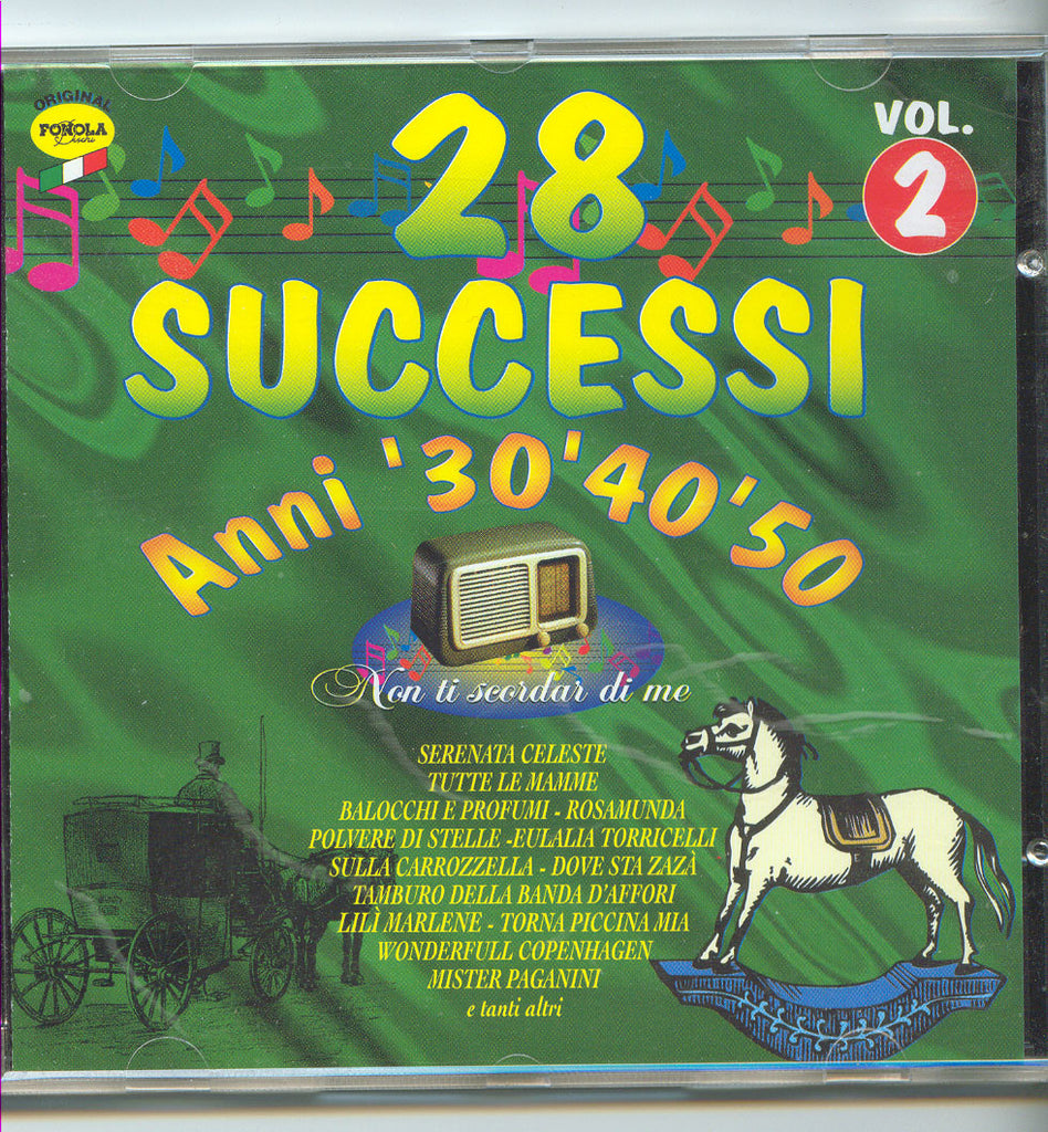 Successi Anni 40-50-60 Vol, 2