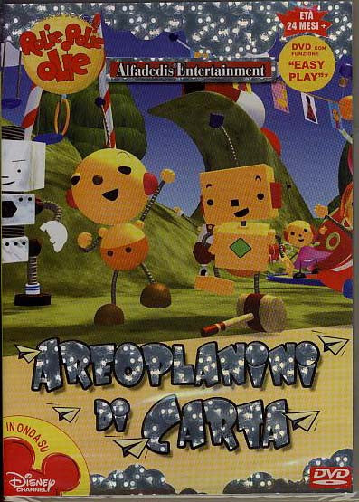 Rolie Polie Olie Areoplanini di carta