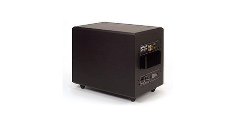 "10"" self-powered subwoofer + stereo powe"
