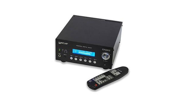 Digital mixing amplifier with 6 audio