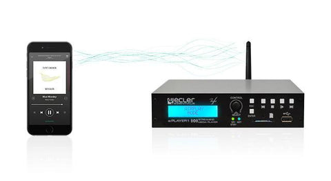 ecler ePLAYER1 Streaming & Local Media Audio Player