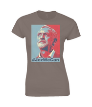 """Jez We Can"" Fitted Women's Fitted Cotton T-Shirt"