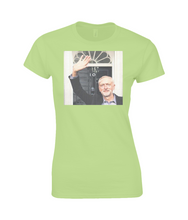 Jeremy Corbyn at No 10 Fitted Women's T-Shirt