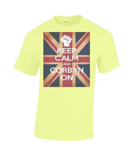 """Keep Calm and Corbyn On"" on Men's  Heavy Cotton T-Shirt"