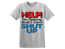 Help! I'm talking and I can't SHUT UP