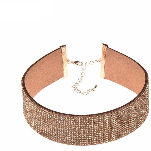 Gold Fiona Choker Necklace by Urban Necklace