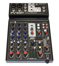 Peavey PV® 6BT Compact Mixer 6 Channel with Bluetooth