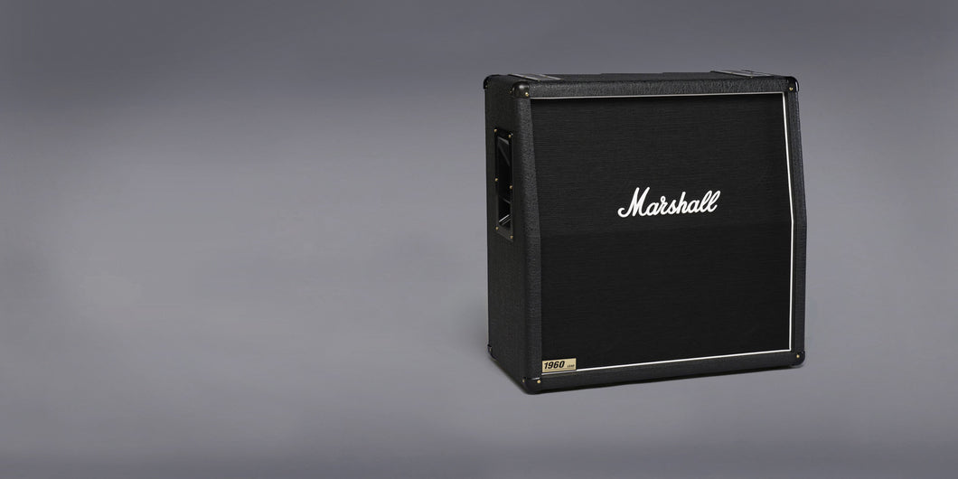 Marshall 1960A 300W 4x12 angled front speaker cabinet