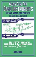 Blitz Gloss Care Cloth For Band Instruments