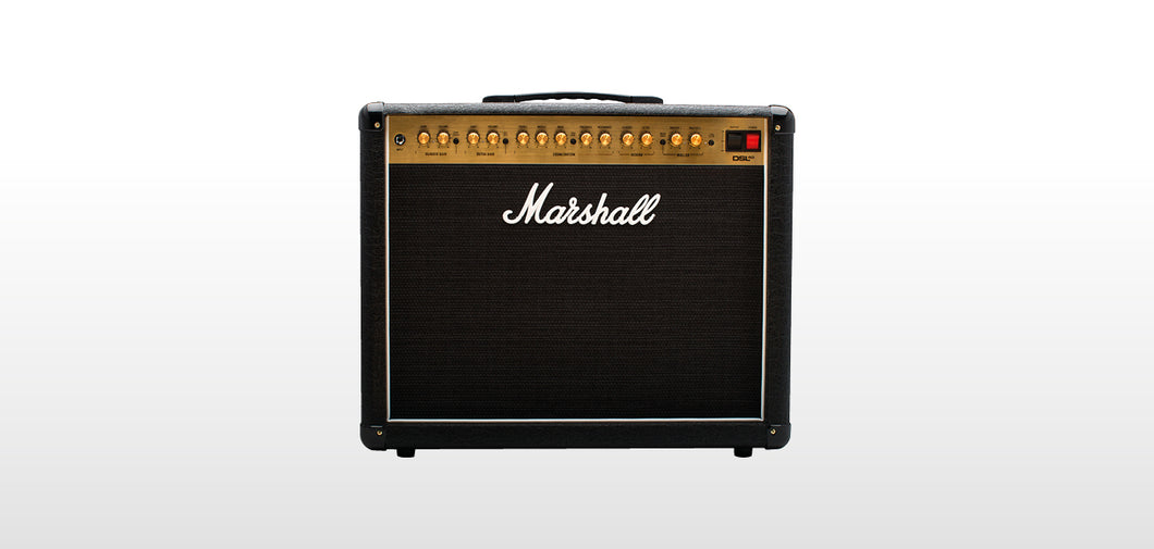 Marshall DSL40CR, 40W tube 2 channel 1x12 combo