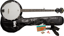 Washburn B8K 5 String Banjo Pack