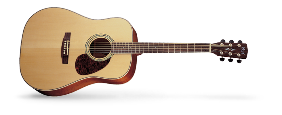 Cort Earth 100 NS Acoustic Guitar - NEW