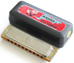 Hohner Old Standby Harmonica, Key Of G