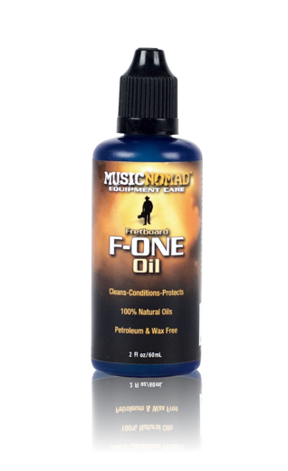 MUSIC NOMAD Fretboard F-ONE Oil Cleaner & Conditioner, 2oz.