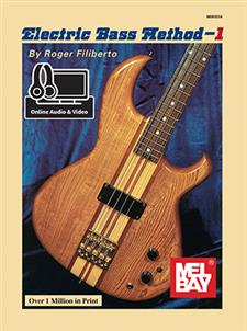 Mel Bay Electric Bass Method Book 1