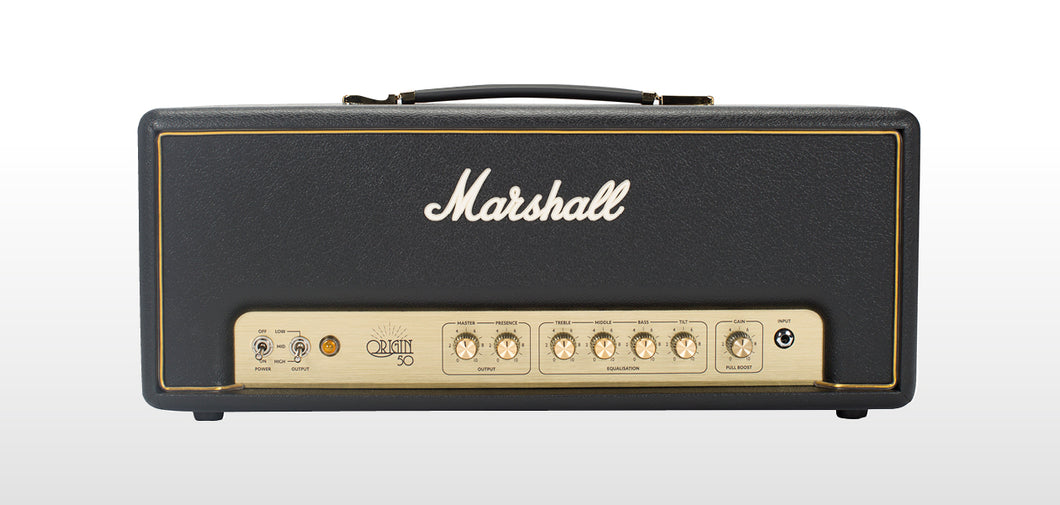 Marshall Origin 50 Head w/FX Loop and Boost
