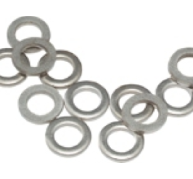 Gibraltar Metal Tension Rod Washers (12-Pack) Standard