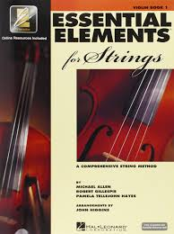 Essential Elements For Strings, Book 1 - Violin