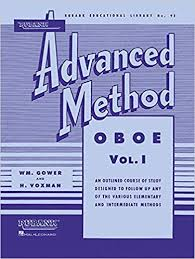 Rubank Advanced Method Book Vol. 1 - Oboe