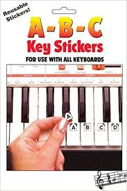 Hal-Leonard ABC Keyboard Stickers