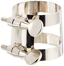 Bass Clarinet Ligature - Nickel