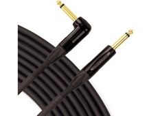 "Live Wire Elite Series Instrument Cable, 1/4"" Straight-Right Angle, 20 Foot"