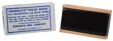 Sherman's Violin Rosin, Dark