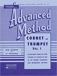 Rubank Advanced Method Book Vol. 1 - Cornet or Trumpet