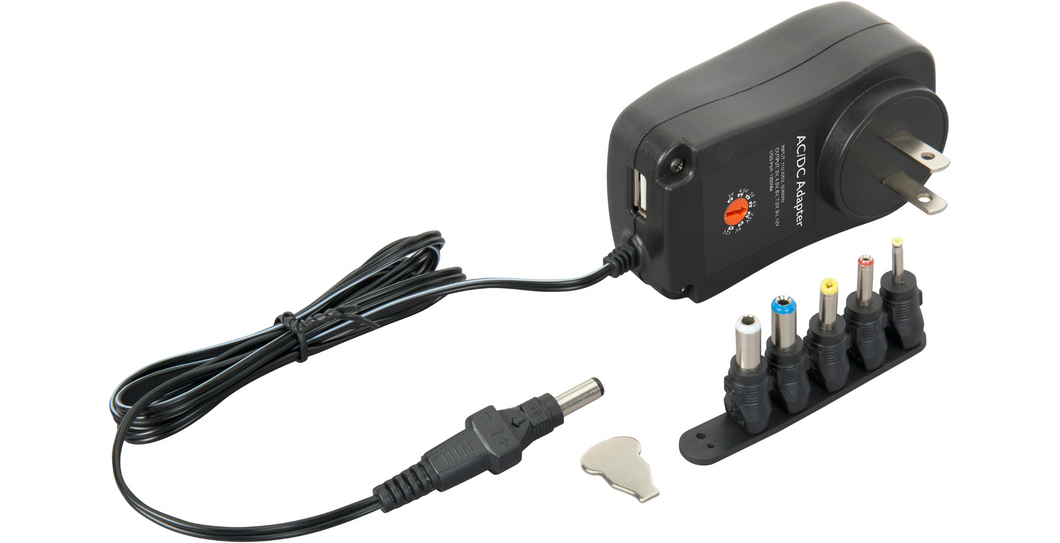 Live Wire UXS Universal Multi-Voltage Power Supply with USB Port Standard