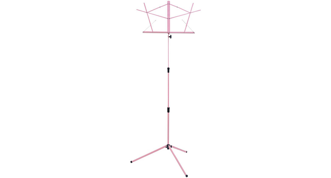 Titan TMS25 Music Stand with Carrying Bag Pink
