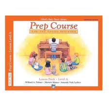 Alfred's Piano Prep Course Lesson Book Level A