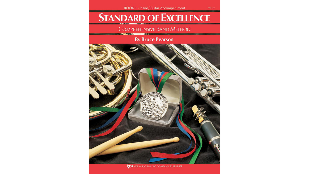 Standard of Excellence Book 1 - Piano/Guitar Standard