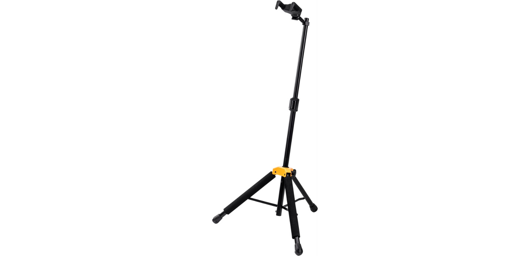 Hercules GS415B PLUS Universal Auto Grip Guitar Stand with Foldable Yoke Standard