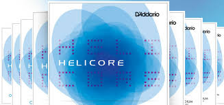 Helicore Violin D String, 4/4 Scale, Medium