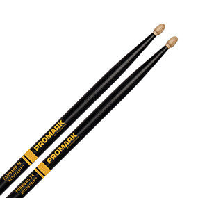 Promark Forward 7A Active Grip Drumsticks, Acorn Tip, pr.