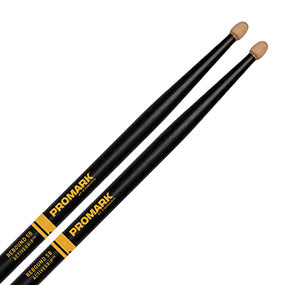 Promark Forward 5B Active Grip Drum Sticks, Wood Tip, Pr.