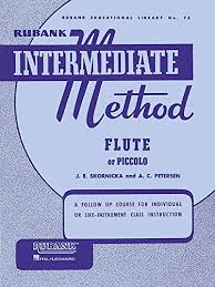 Rubank Intermediate Method Book - Flute or Piccolo