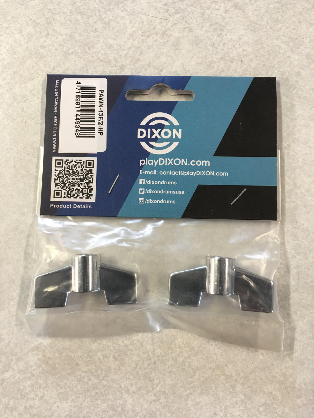 Dixon 6mm Wing Nut, 2pk.