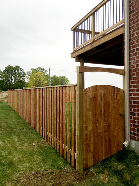 Fences with gates in Kitchener Campbell Fence